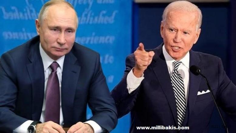 Biden'den Putin'e ağır itham
