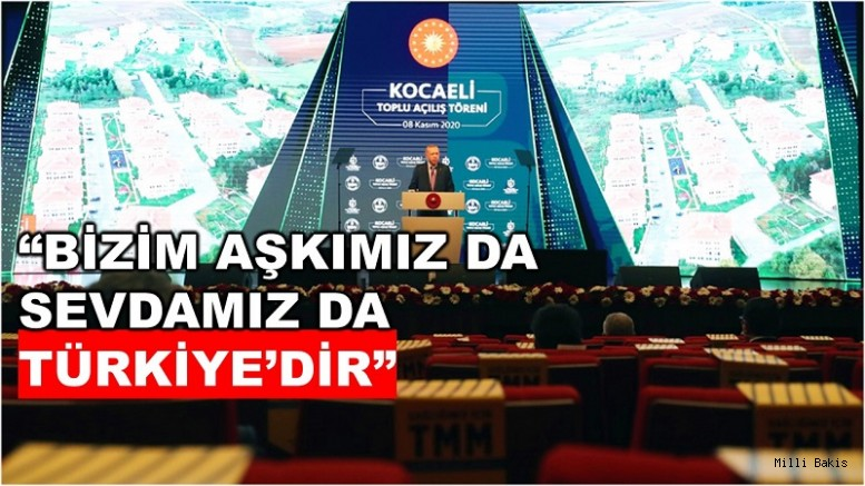 """""""Bu asır, Türkiye'nin yıldızının daha da parladığı bir asır olacaktır"""""""