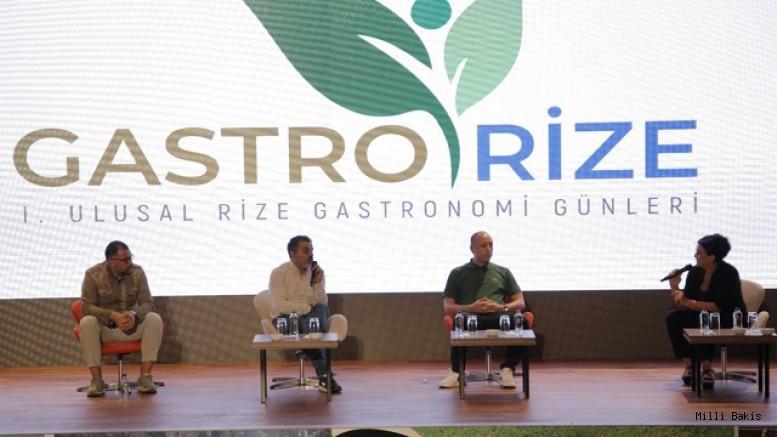 GastroRize Günleri ile Gastronominin Kalbi Rize'de Attı