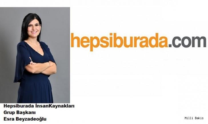 Hepsiburada'da İnsan Kaynakları Grup Başkanı kim oldu?