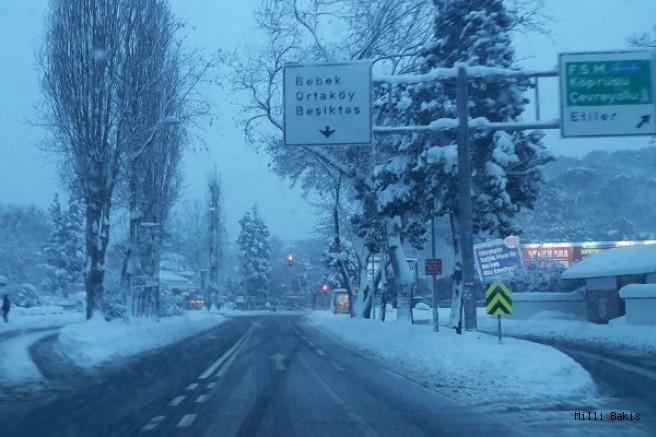 İstanbul'da eğitime ve çalışanlara kar tatili