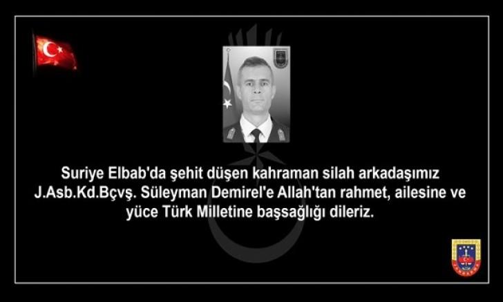 ŞEHİDİMİZ VAR.