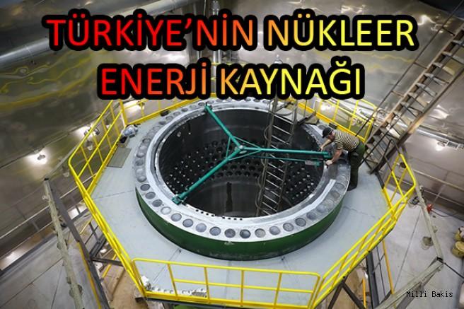 TÜRKİYE'NİN NÜKLEER ENERJİ KAYNAĞI